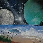 #19 Chris Parsons-The Beach Moon of Neptune